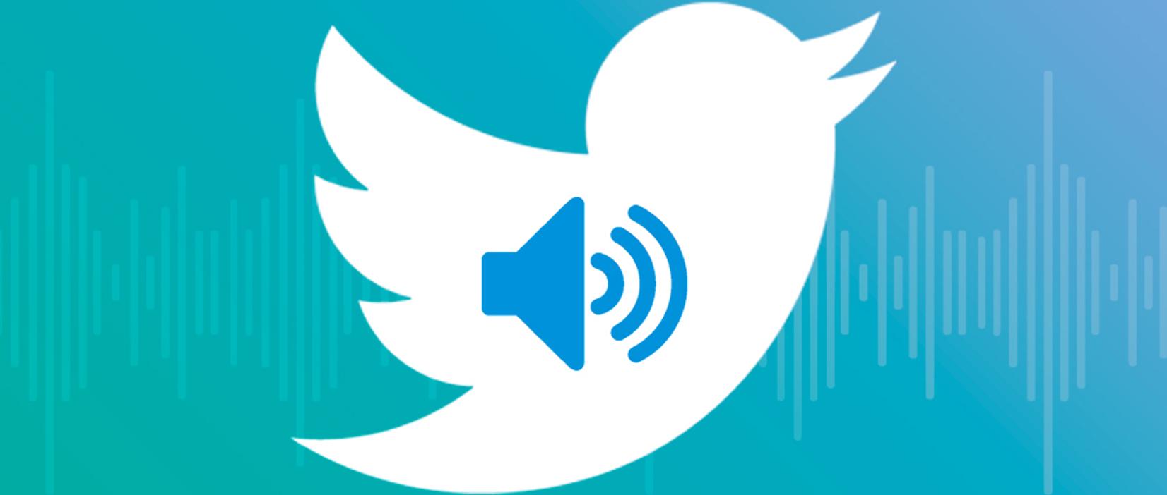 Las notas de audio llegan a Twitter